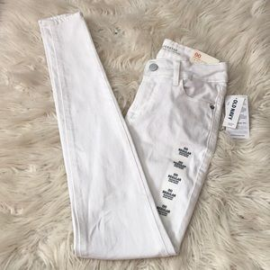 Old Navy white jeans 00